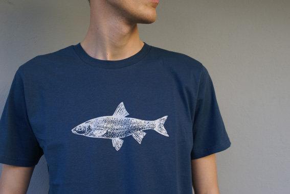 Herrenshirt Fisch