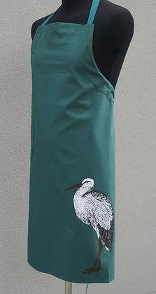 VorHänger dunkelgrün Storch