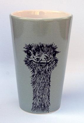 TafelFreude Tasse/Vase salbeigrün Strauss