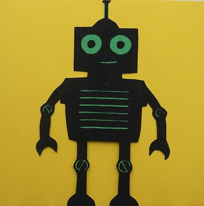 DraufGänger Roboter schwarz