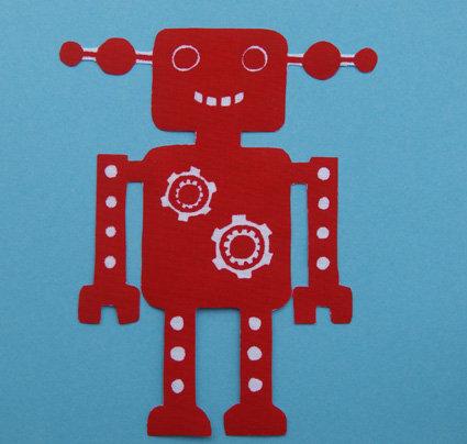 DraufGänger Roboter rot
