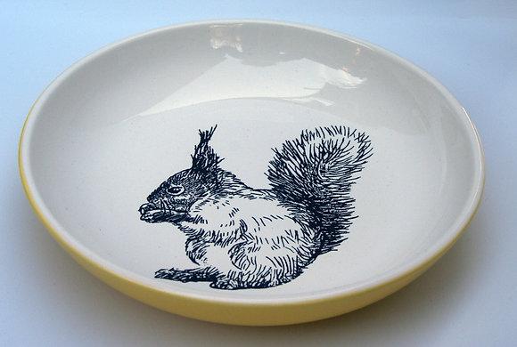 TafelFreude Teller gelb Eichhörnchen