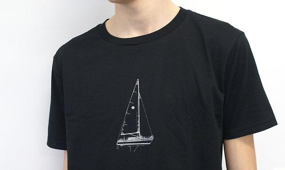 Herrenshirt Segelschiff