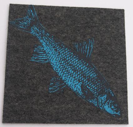 UnterTan graumeliert Fisch