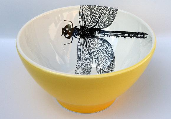 TafelFreude Müeslischüssel gelb Libelle