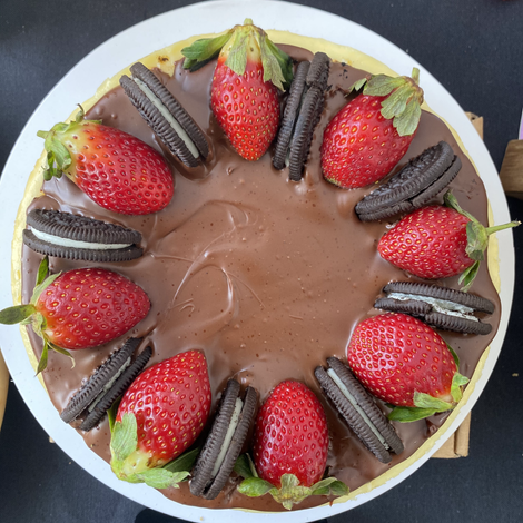Nutella Filling Cheesecake