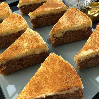 Carrot Cake Slices