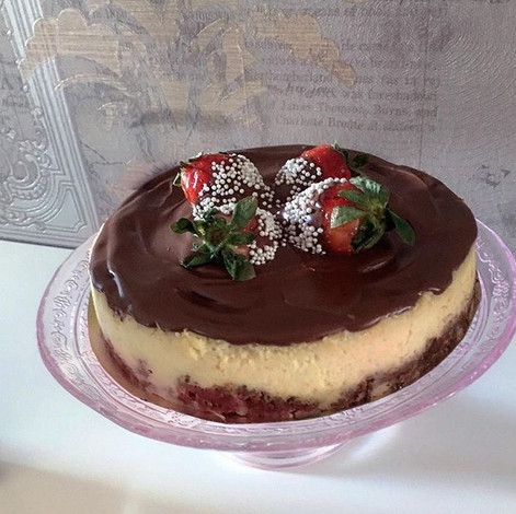 Nutella Topping Cheesecake