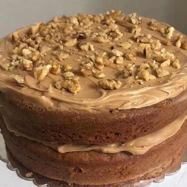 Coffee Cake with Walnuts