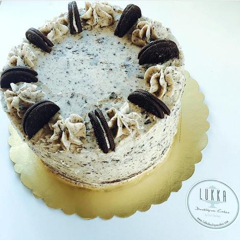 Oreo & Banana Cake