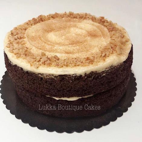 GF Carrot Cake with Buckwheat Flour