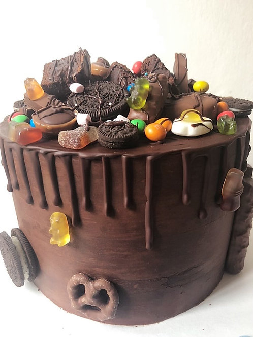 Chocolate Drip Cake (for kids)