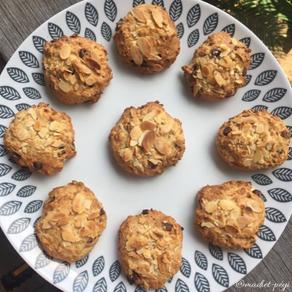 Minis Cookies sans sucre