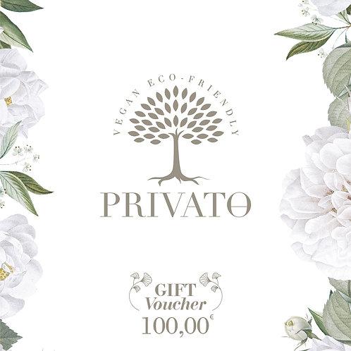 Buono regalo digitale privatoeco.com - 100.00€