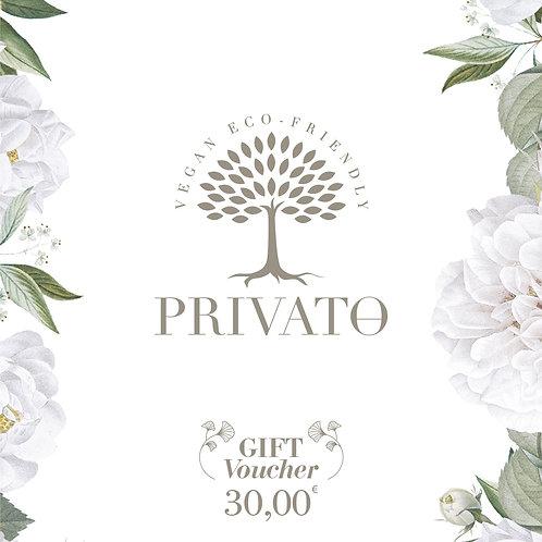 Buono regalo digitale privatoeco.com - 30.00€