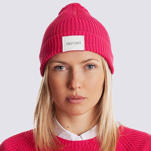 Cappello vegano in cotone organico con logo PRIVATO