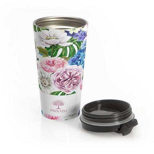 PRIVATO Travel Mug - Floreal