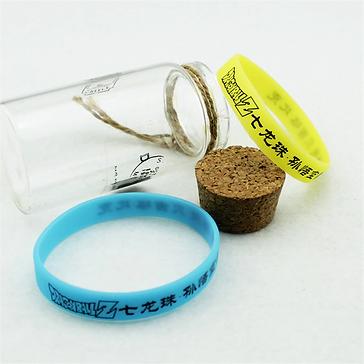 Bracelet Caoutchouc DBZ avec sa boîte.pn