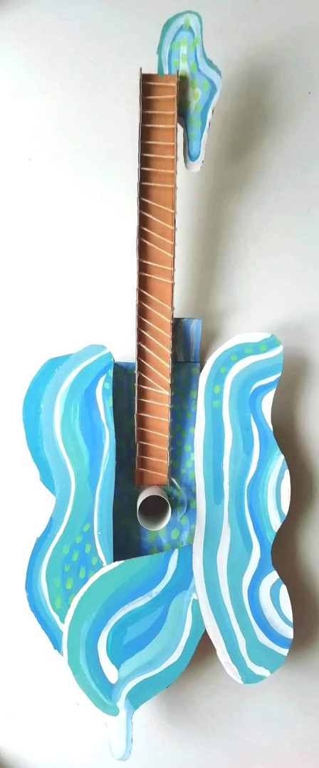 Picasso's Water Guitar