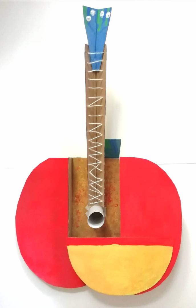 Picasso's Apple Guitar
