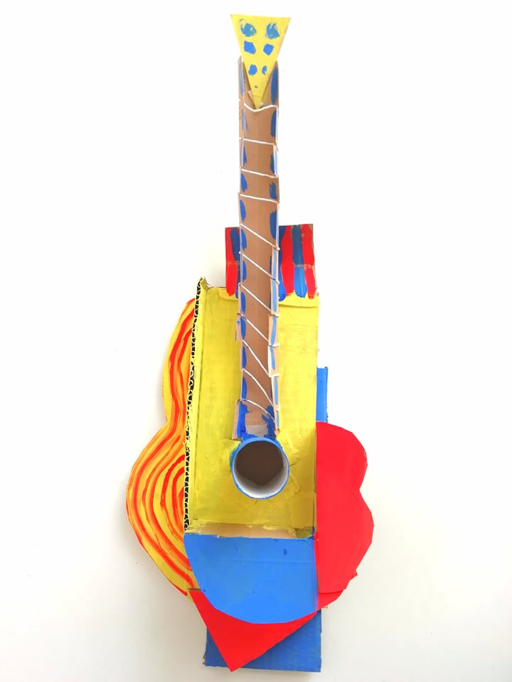 Picasso's Guitar