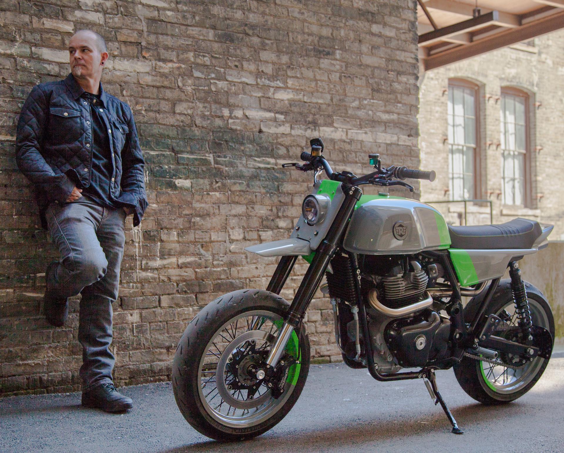 Tony of Analog Motorcycles