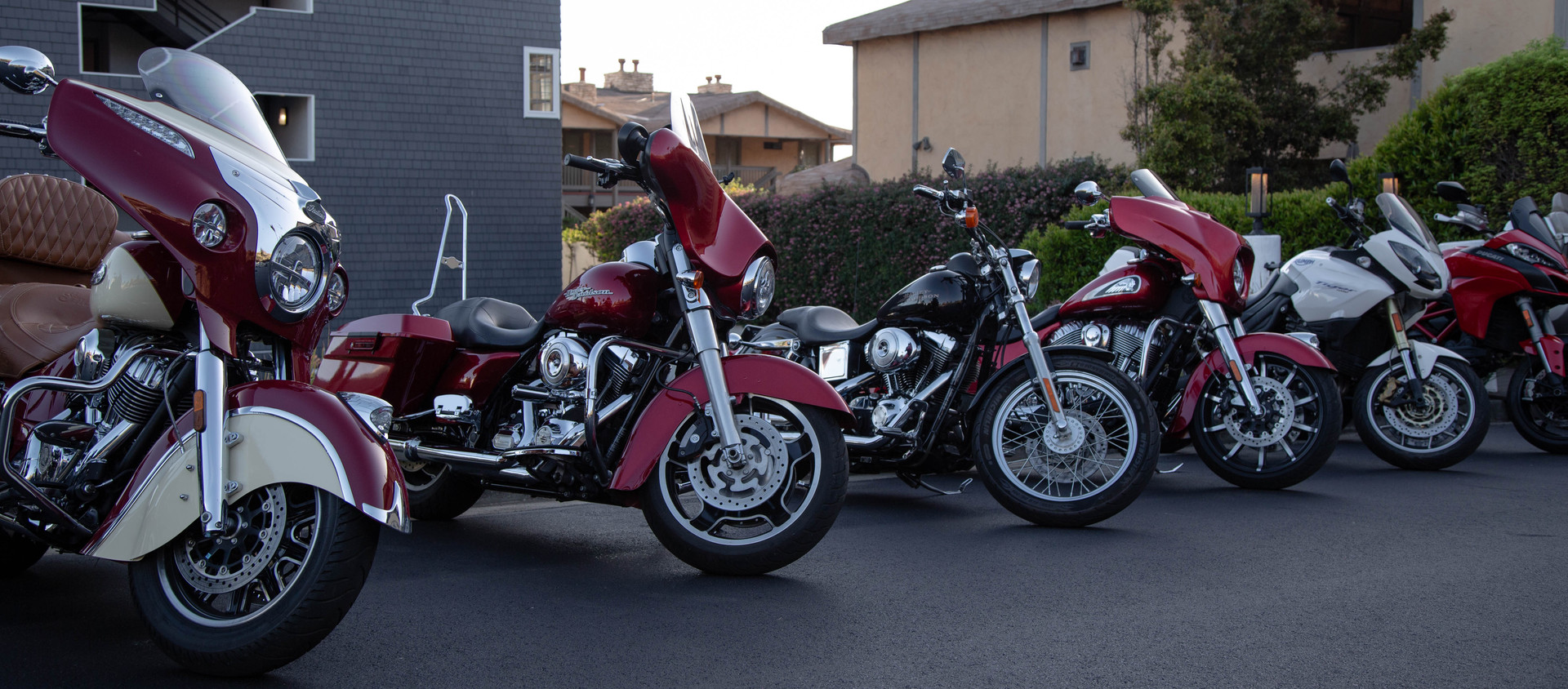The Lineup for Why We Ride to The Quail