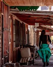 A stroll down an old town.