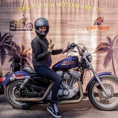 Moto-Friendly Photo Wall