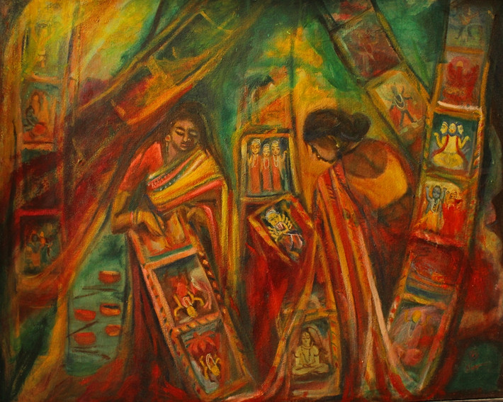 Potua   Oil on canvas