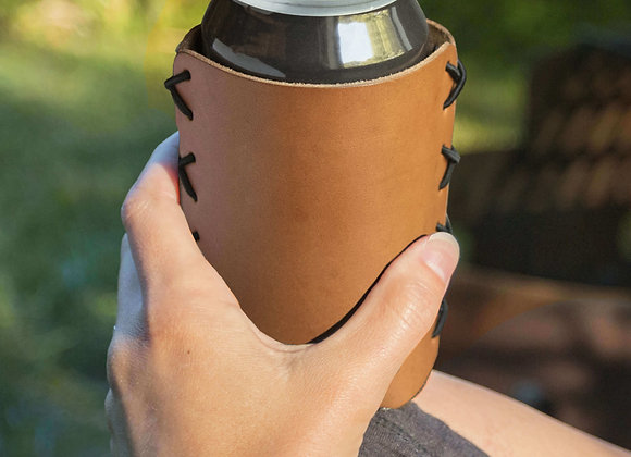 Leather Can Cooler