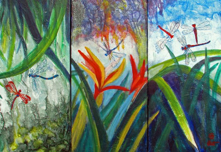 Life | Acrylic on canvas