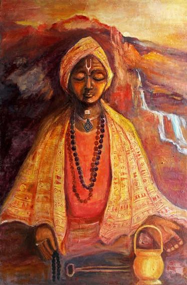 Meditation | Oil on canvas