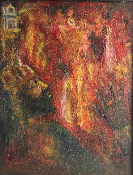 Jauhar   Oil on canvas