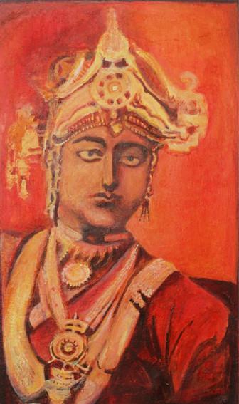 Lakshmibai   Oil on canvas