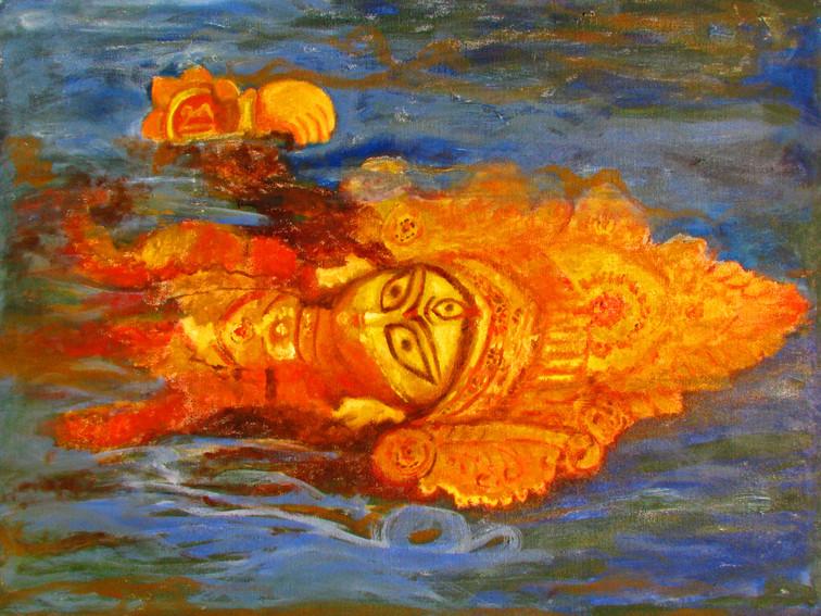 Devi | Oil on canvas