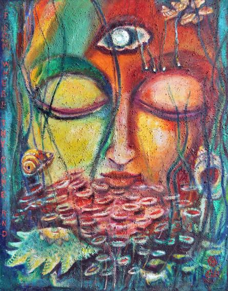 Nataraj | Oil on canvas
