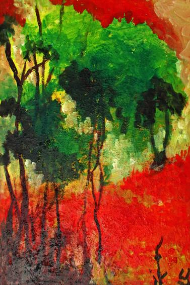 Untitled | Acrylic on canvas