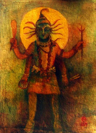 Natraj | Oil on canvas