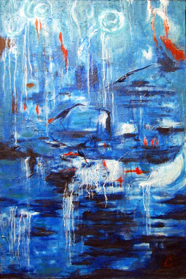 Mystic | Acrylic on canvas