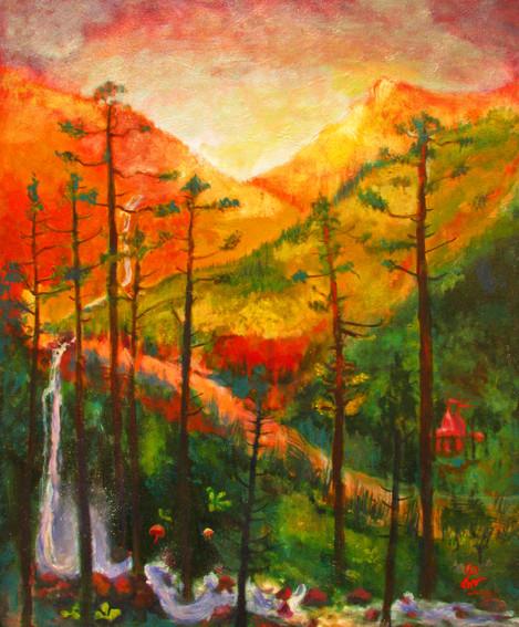 Valley | Acrylic on canvas