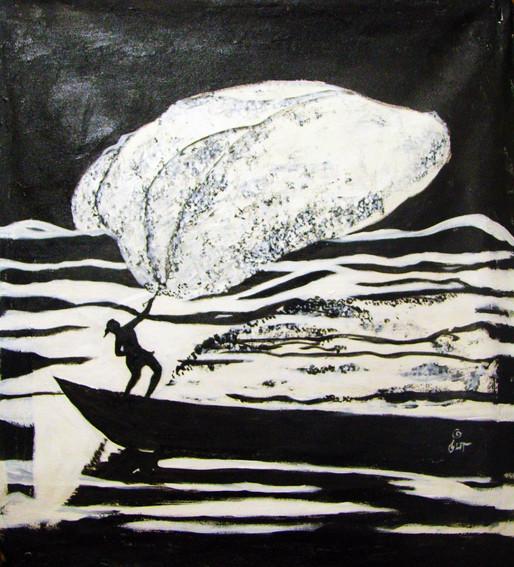 Fisherman | Acrylic on canvas