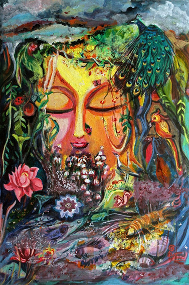 Forest | Acrylic on canvas