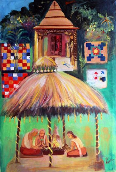 Vaastu | Oil on canvas