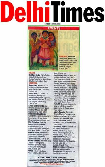 Exhibition | Delhi Times