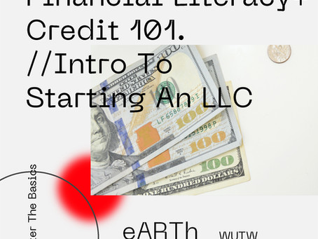 The eARTh Project: Financial Literacy, Credit 101 & Social Entrepreneurship