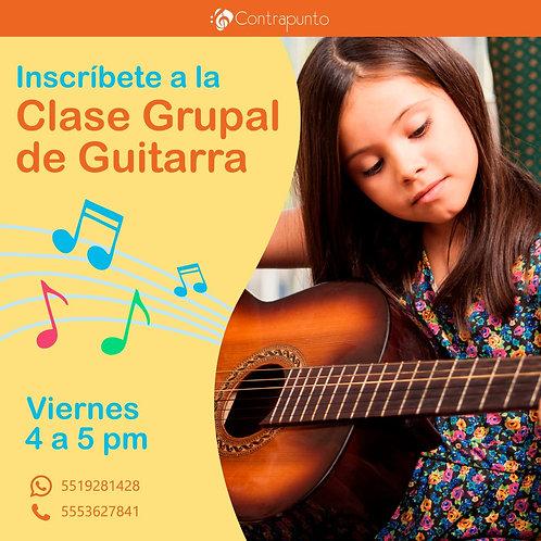 Clase Grupal de Instrumento