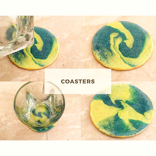 Clay Coaster