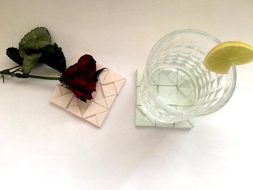 Geometric Concrete Coasters