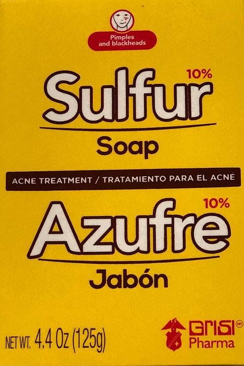 Sulfur Soap/ Jabón de Azufre